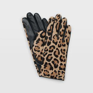 🌼 NWOT Club Monaco leopard print gloves